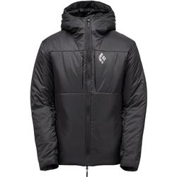 Black Diamond Stance Belay Parka - Mens-Black
