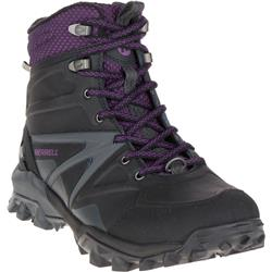 Merrell Capra Glacial Ice+ Mid WTPF - Black - Womens-Not Applicable