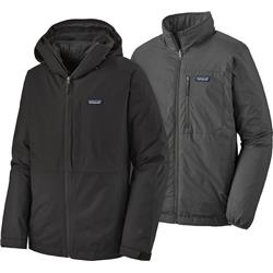 Patagonia 3-in-1 Snowshot Jacket - Mens-Black