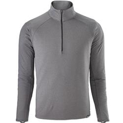 Patagonia Capilene Midweight Zip Neck - Mens-Forge Grey - Feather Grey X-Dye