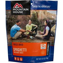 Mountain House Spaghetti with Meat Sauce-Not Applicable