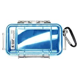 Pelican Products 1015 Micro Case-Blue / Clear