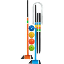 GSI Outdoors Outside / Inside Adventure Game - Freestyle Croquet / Golf-Not Applicable