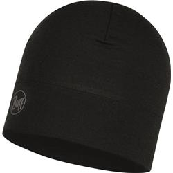 Buff Midweight Merino Wool Hat-118006.999.10.00 - Solid Black