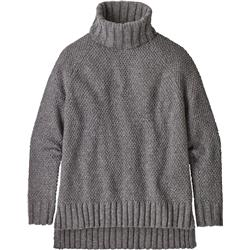 Patagonia Off Country Turtleneck - Womens-Drifter Grey