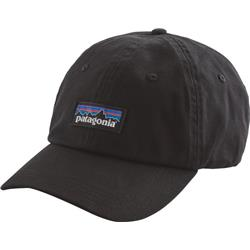 Patagonia P-6 Label Trad Cap-Black