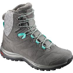 Salomon Ellipse Winter GTX - Castor Gray / Beluga / Biscay Green - Womens-Not Applicable