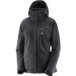 Salomon Fantasy Jacket - Black Heather - Womens-Not Applicable
