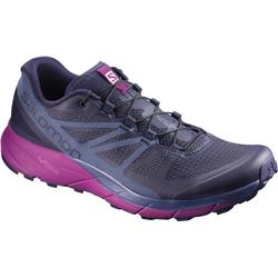 Salomon Sense Ride - Evening Blue / Crown Blue / Grape Juice - Womens-Not Applicable