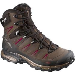 Salomon X Ultra Winter CS WP - Absolute Brown-X / Brown Black / Bordeaux - Womens-Not Applicable