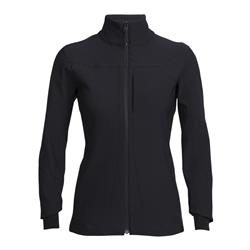 Icebreaker Dia Softshell Jacket - Womens-Black