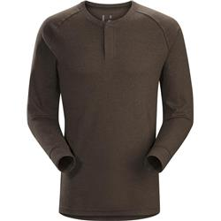Arcteryx Sirrus LS Henley - Mens-Carob Heather