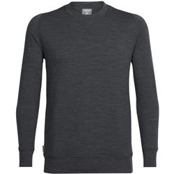 Icebreaker Shifter LS Crewe - Mens-Jet Heather