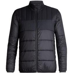 Icebreaker Stratus X Jacket- Mens-Black / Jet Heather