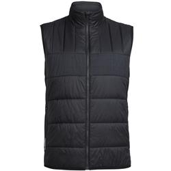 Icebreaker Stratus X Vest- Mens-Black / Jet Heather