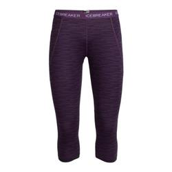 Icebreaker Winter Zone Legless Couloir - Womens-Eggplant / Eggplant / Sulfur