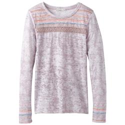 Prana Tilly Top - Womens-Earth Grey Willow