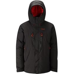 Rab Batura II Jacket - Mens-Black / Horizon