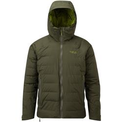 Rab Valiance Jacket - Mens-Army / Cactus