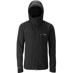Rab Vapour-Rise Guide Jacket - Mens-Black / Black