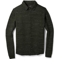 Smartwool Merino 250 Button Down LS - Mens-Olive / Black