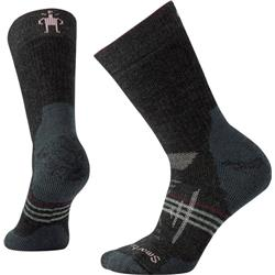 Smartwool PhD Outdoor Heavy Crew Socks - Womens-Charcoal