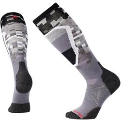 Smartwool PhD Ski Medium Pattern Socks - Mens-Graphite