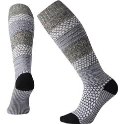 Popcorn Cable Knee High Socks - Womens