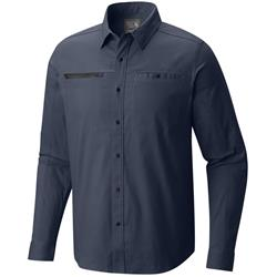 Mountain Hardwear Hardwear AP Shirt - Mens-Zinc