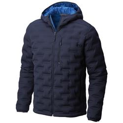 Mountain Hardwear StretchDown DS Hooded Jacket - Mens-Dark Zinc