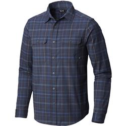 Mountain Hardwear Stretchstone LS Shirt - Mens-Dark Zinc