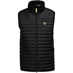 Fjallraven Abisko Padded Vest - Mens-Black