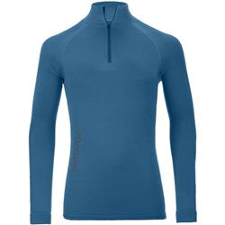 Ortovox 230 Competition Zip Neck - Mens-Blue Sea