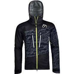 Ortovox 3L Guardian Shell Jacket - Mens-Black Raven