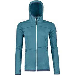 Ortovox Fleece Light Hoody - Womens-Aqua