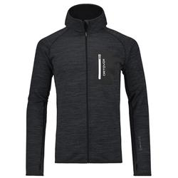 Ortovox Fleece Melange Hoody - Mens-Black Blend