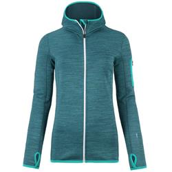 Ortovox Fleece Melange Hoody - Womens-Aqua Blend