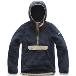 The North Face Campshire Pullover Hoodie - Womens-Urban Navy / Dune Beige