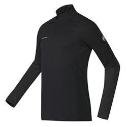 Mammut Go Warm Zip LS - Mens-Black