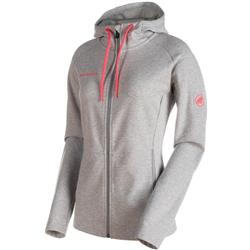Mammut Mammut Logo ML Hooded Jacket - Womens-Granite Melange