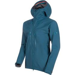 Mammut Meron HS Hooded Jacket - Mens-Wing Teal