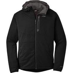 Outdoor Research Ascendant Hoody - Mens-Black / Pewter