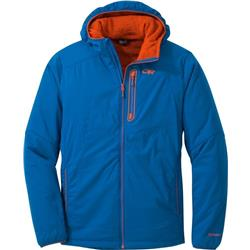 Outdoor Research Ascendant Hoody - Mens-Cobalt / Burnt Orange