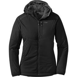 Outdoor Research Ascendant Hoody - Womens-Black / Charcoal