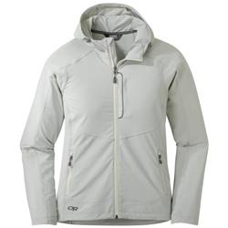 Outdoor Research Ferrosi Hooded Jacket - Womens-Alloy