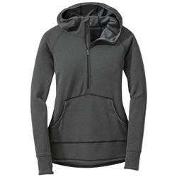 Outdoor Research Shiftup Zip Top - Womens-Black / Charcoal