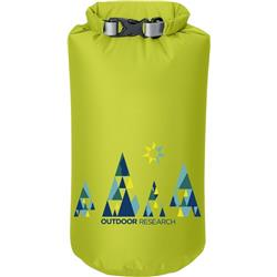 Outdoor Research Graphic Dry Sack 10L - Woodsy-Lemongrass