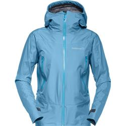 Norrona Falketind GTX Jacket - Womens-Blue Moon