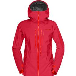 Norrona Lofoten GTX Pro Jacket - Womens-Rebel Red