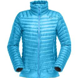 Norrona Lofoten Super Lightweight Down Jacket - Womens-Caribbean Blue